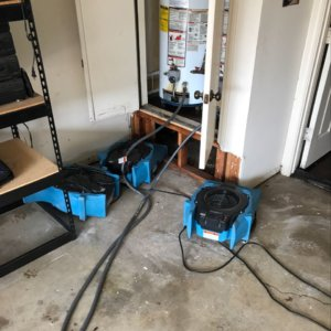Leaking & Burst Water Heater Cleanup in Dallas/Fort Worth